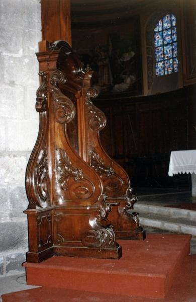 Trône épiscopal