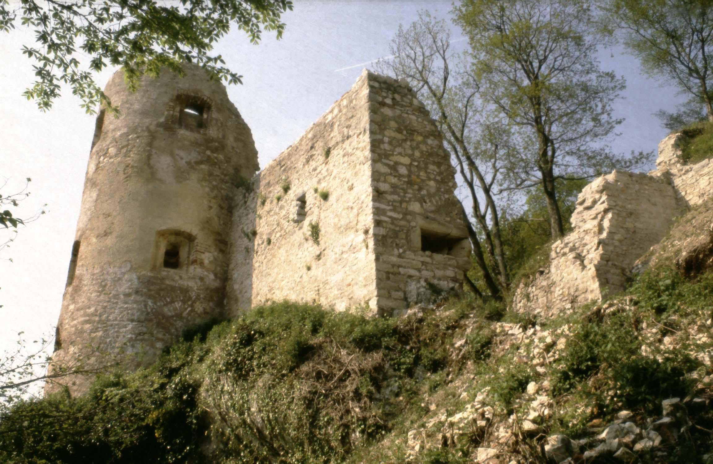 Bas-château : tour sud, vue générale