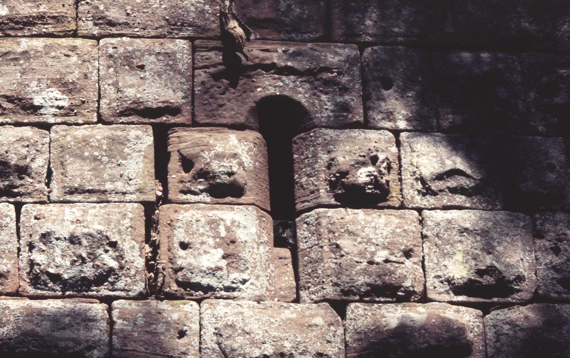 Mur ouest : fenêtre, détail