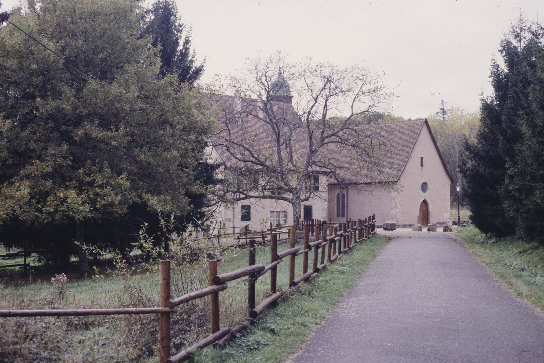 Chapelle : chemin d'accès