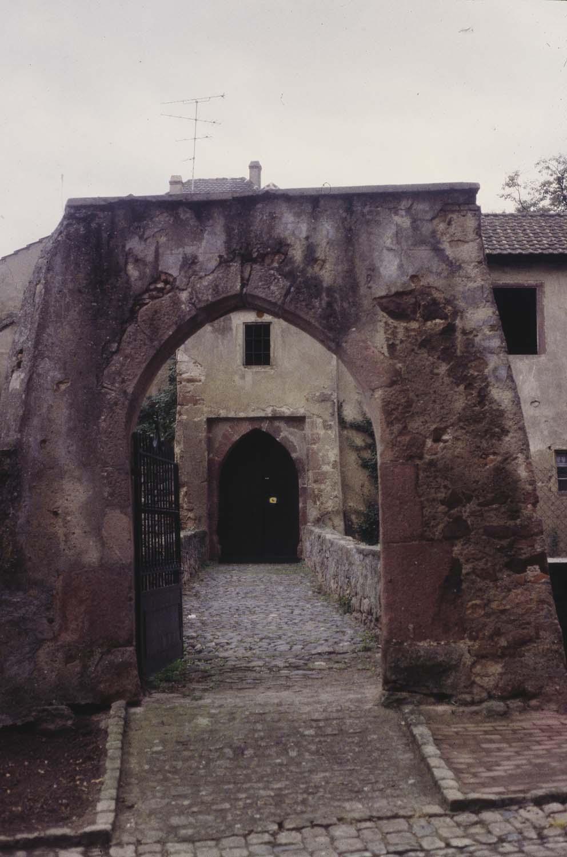 Château : entrée
