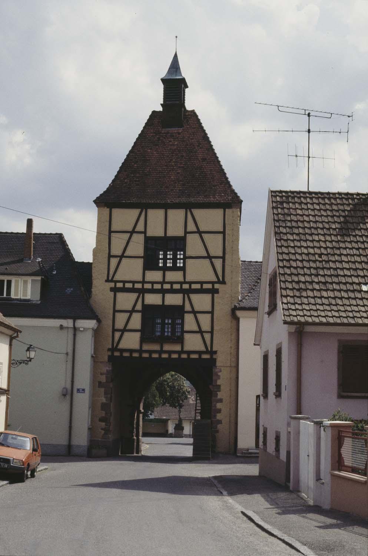 Porte, vue générale
