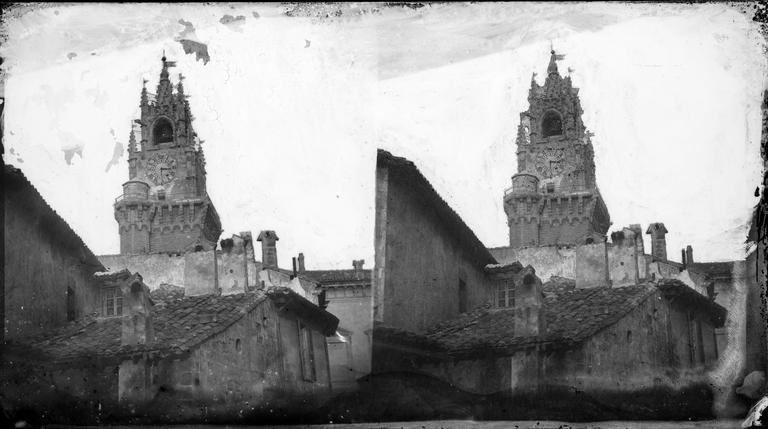 Vue du clocher de l'église