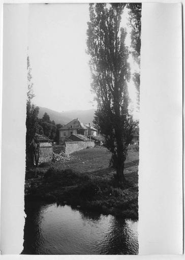 Maison au bord de la Thur