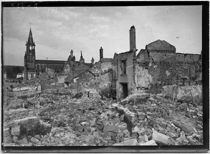 Vue d'ensemble des destructions