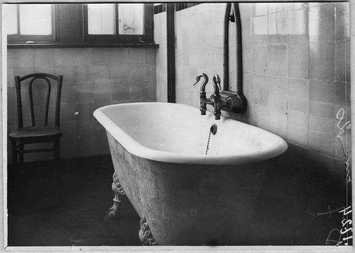 Dépôt d'otages payants : salle de bain