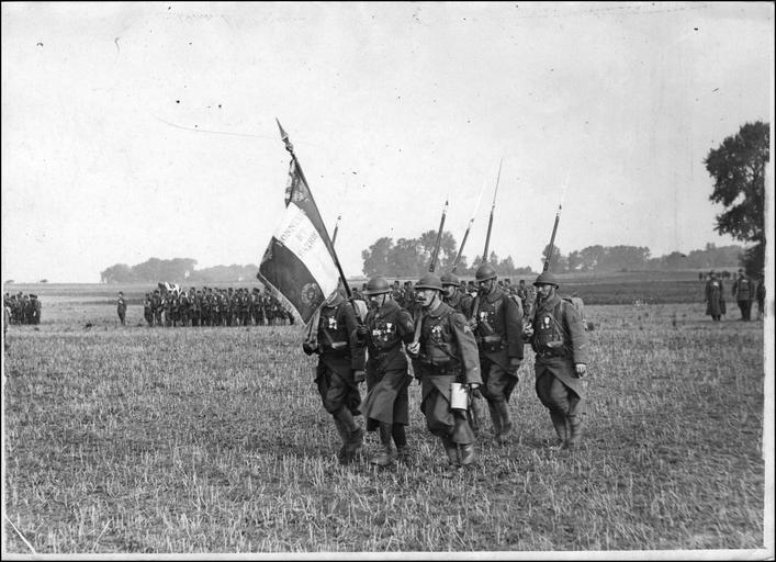Le drapeau de la Légion étrangère