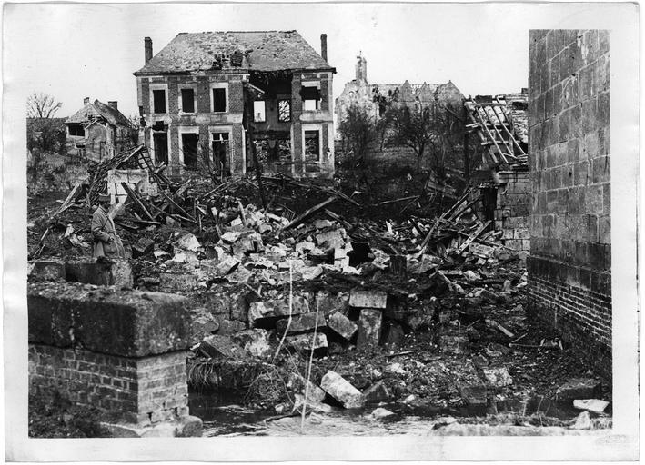 Vue d'ensembles des destructions