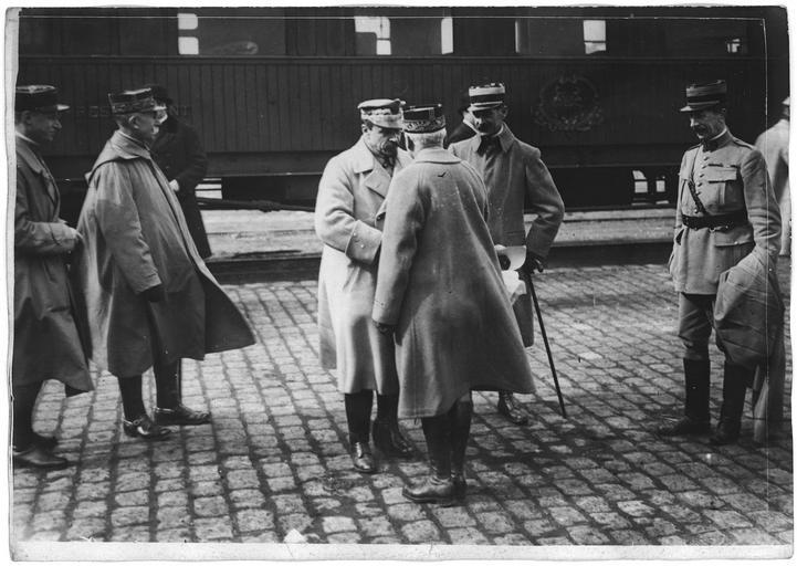 Départ du général Haller pour la Pologne