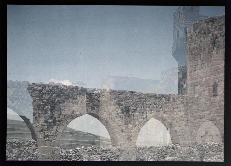 Front sud, aqueduc