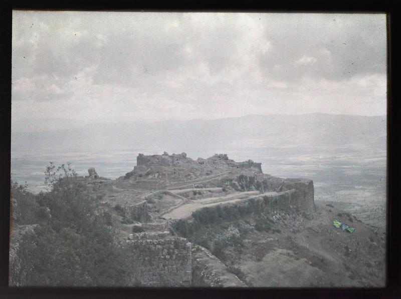 La basse cour vue depuis le donjon