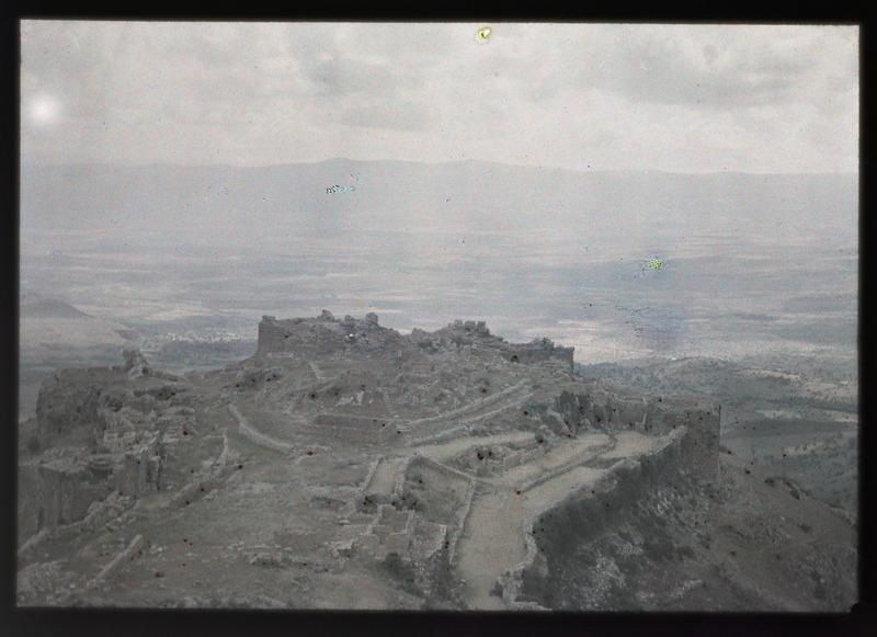 Basse cour vue depuis le donjon