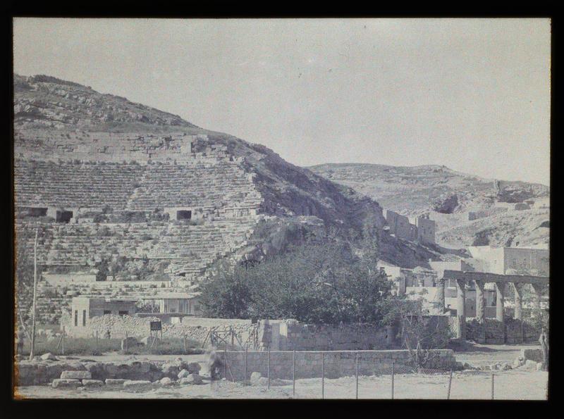 Vue du théâtre romain d'Amman