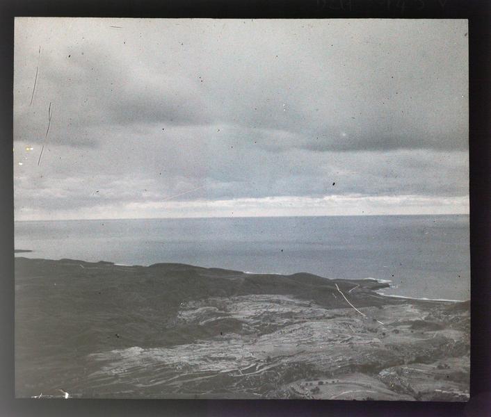 Vue de la côte depuis le château, vers le sud