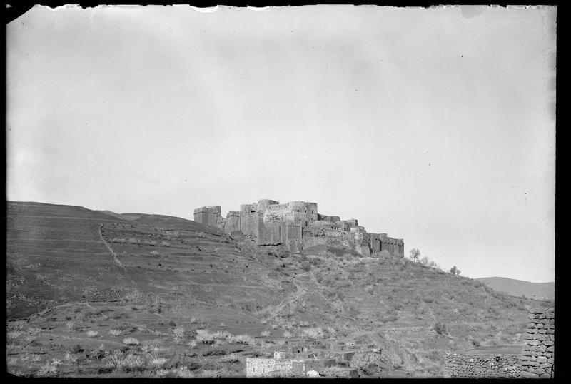 Vue en contrebas de la citadelle, depuis le sud-est