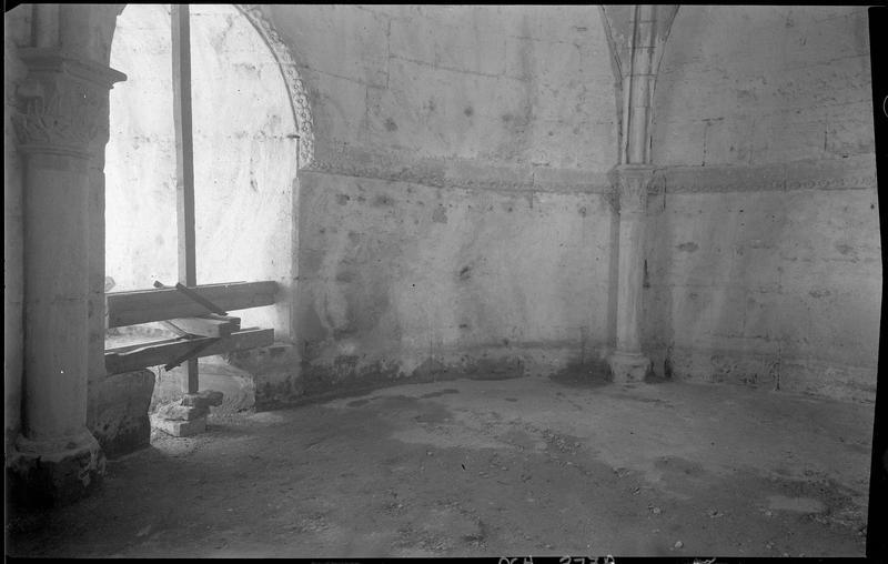 Salle ronde du logis du Maître