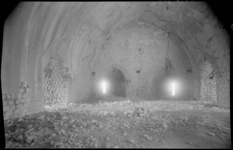 Intérieur de la tour maîtresse