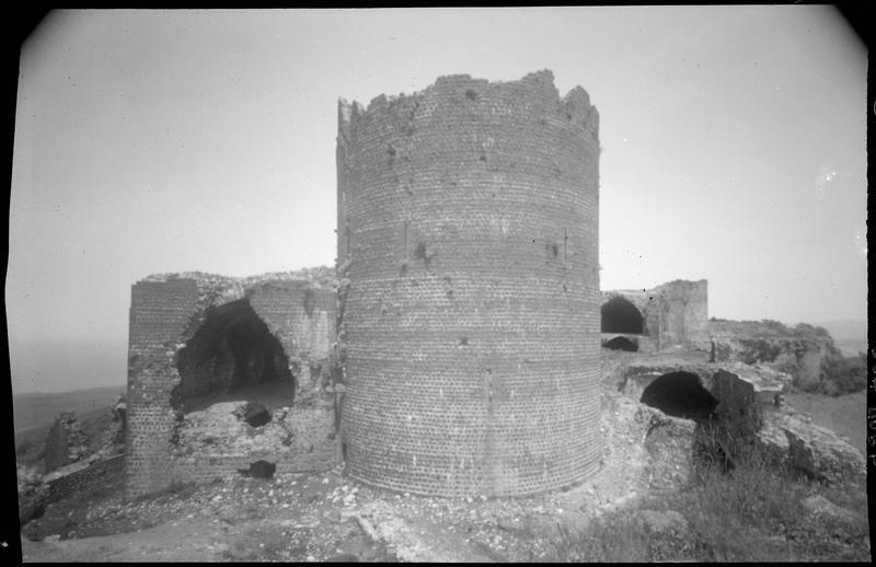 Vue générale de la tour maîtresse