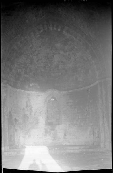 Intérieur de la chapelle: l'abside