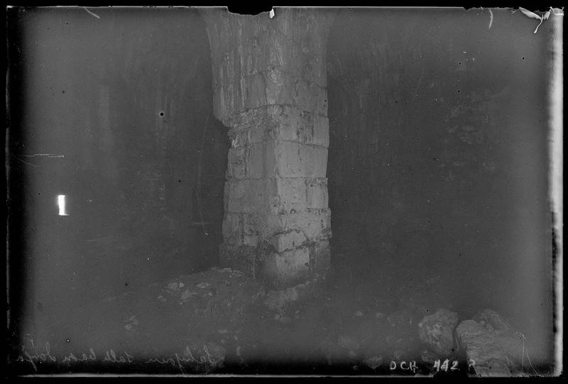 Intérieur de la salle basse de la tour maîtresse