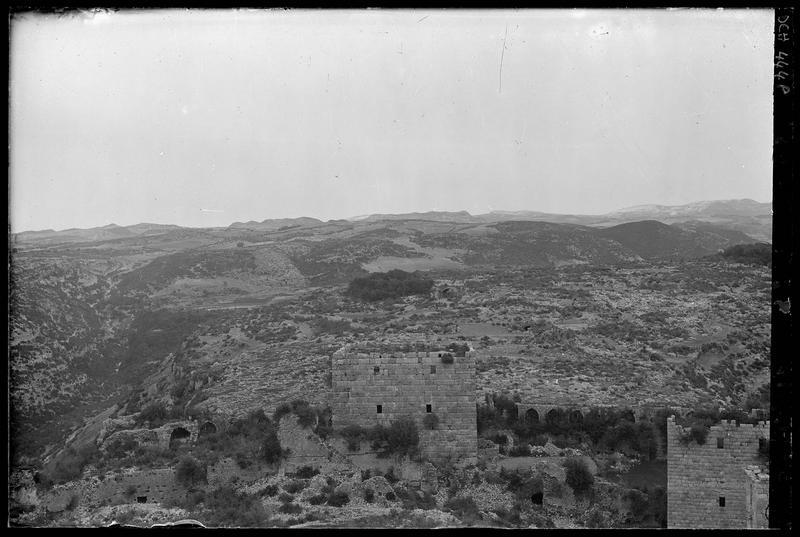 Panorama depuis le château, vers l'est
