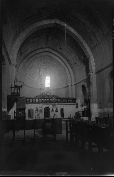 Intérieur de la grande église de la tour maîtresse