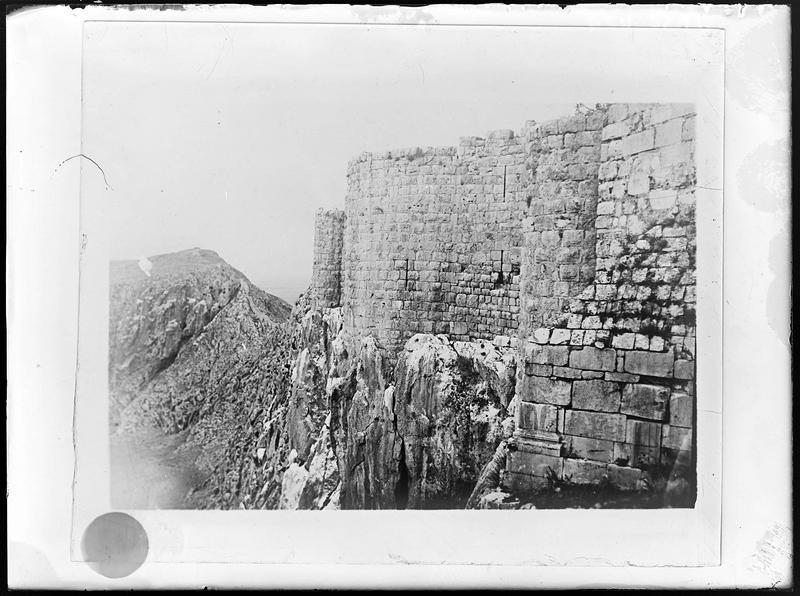 Reproduction d'une vue générale du château