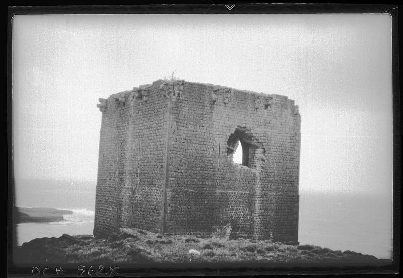 Vue rapprochée de la tour