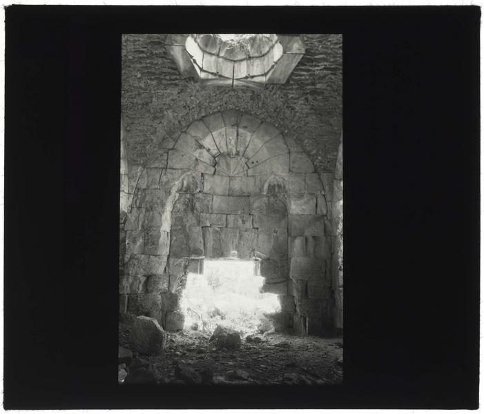 Vue intérieure des bains arabes