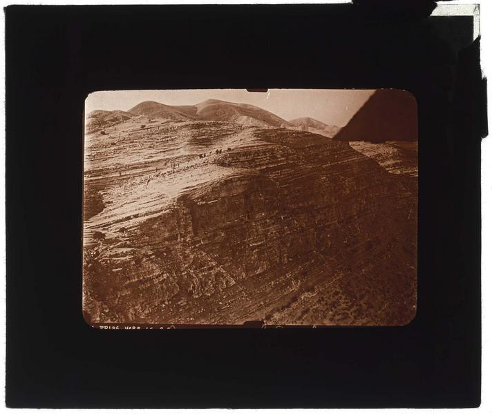 Vue aérienne de la falaise