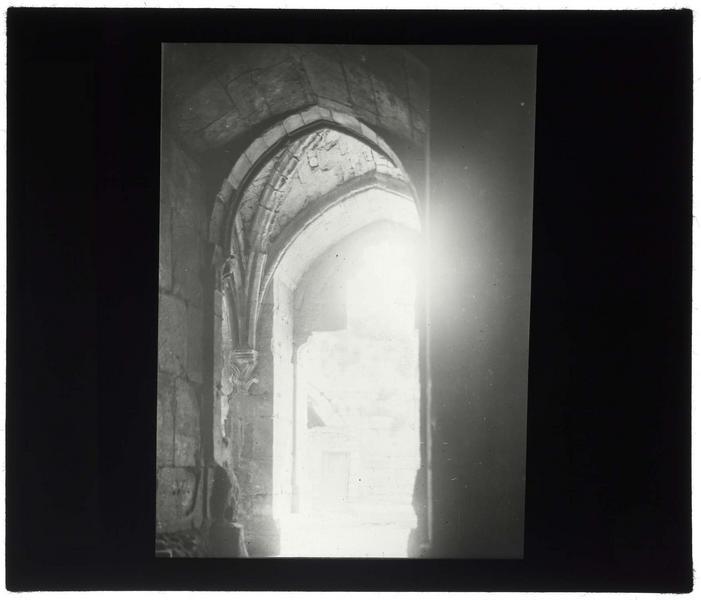 Vue de la galerie gothique depuis la grand'salle