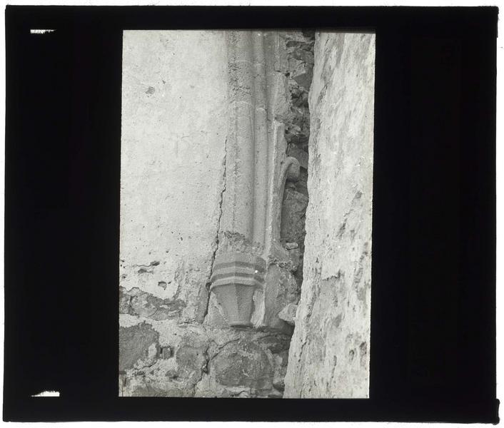 Ogive de la salle basse de la tour d'entrée