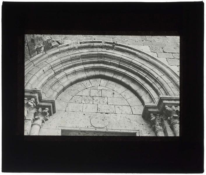 Portail nord de la chapelle