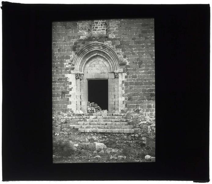 Portail ouest de la chapelle