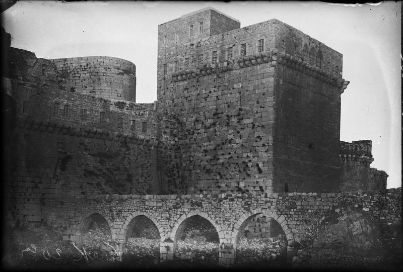 L'aqueduc et l'ouvrage principal du front sud