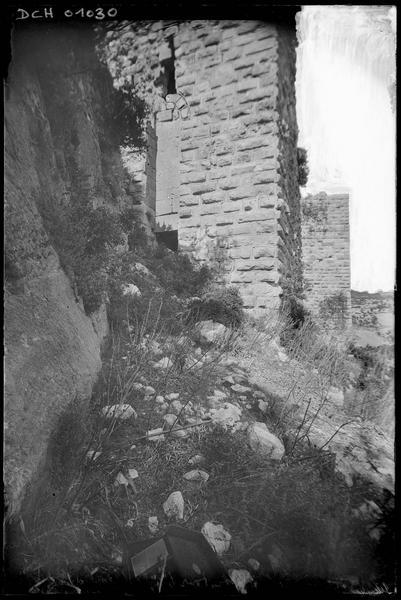 Porte d'entrée de la tour ouest du front sud