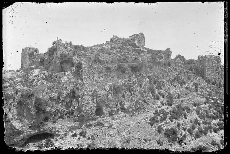Le château byzantin vu du sud
