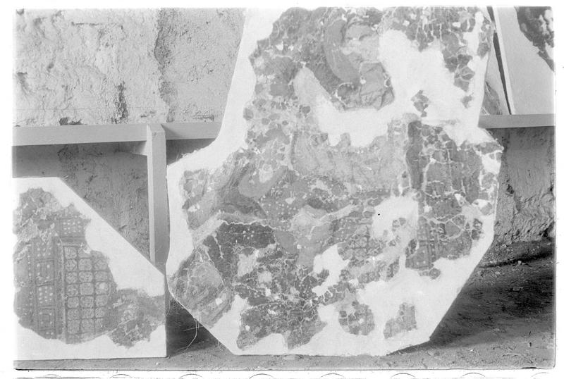 Fragments de fresques de la chapelle