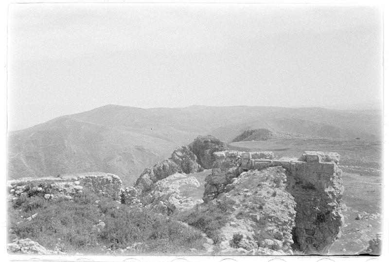 Vue du château vers le sud