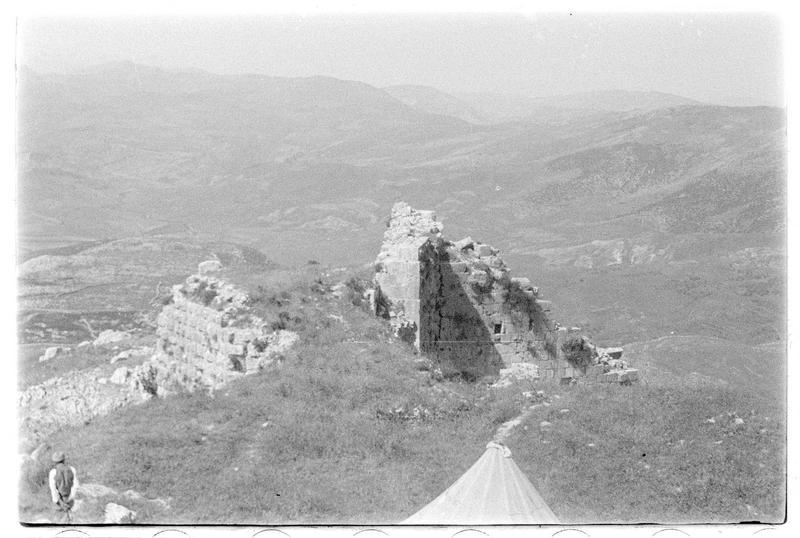 Vue du château vers le nord