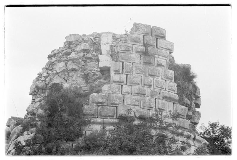 Détail du mur bouclier