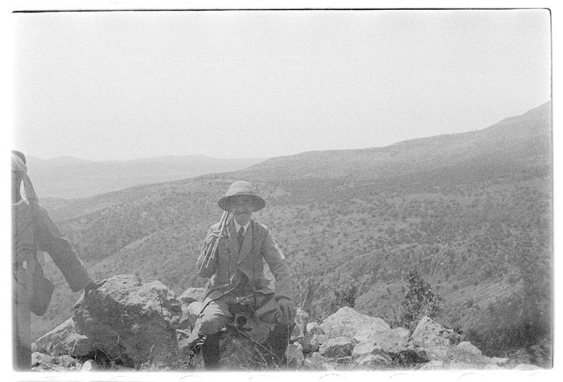 Paul Deschamps au sommet du château haut