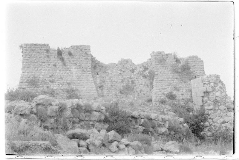 Vue générale du château haut