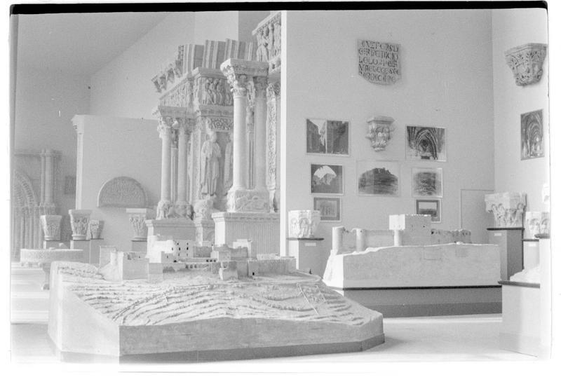 Galerie des moulages: la salle des Croisades