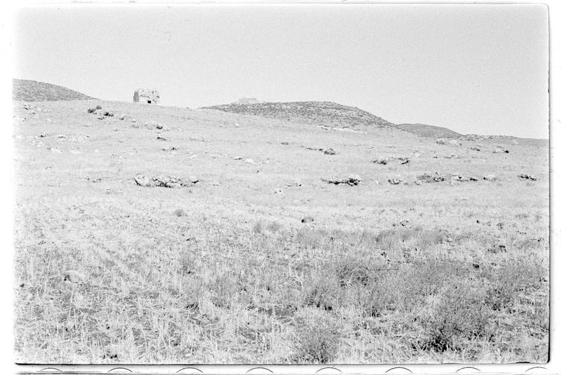 Vue de la tour de Burj Dayr Al-Shummayli, à proximité du château