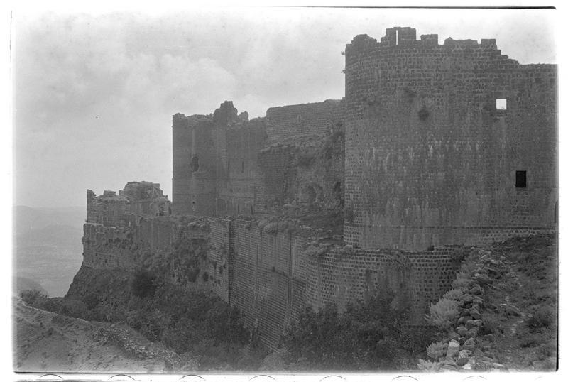 Vue générale du château (front est)