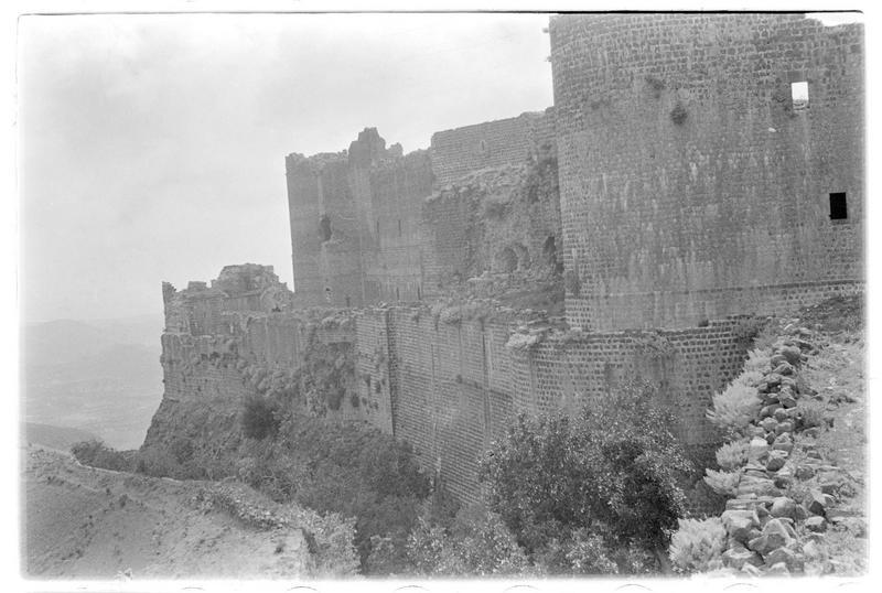 Vue générale du château (front nord-est)
