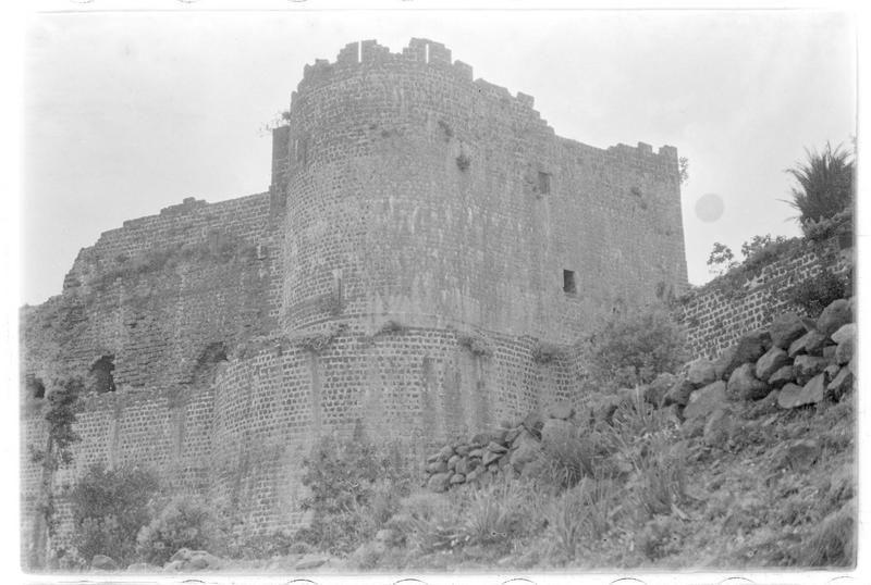 Vue d'ensemble de l'extérieur du château