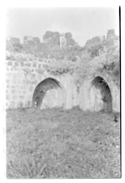 Vue intérieure de la tour éperon
