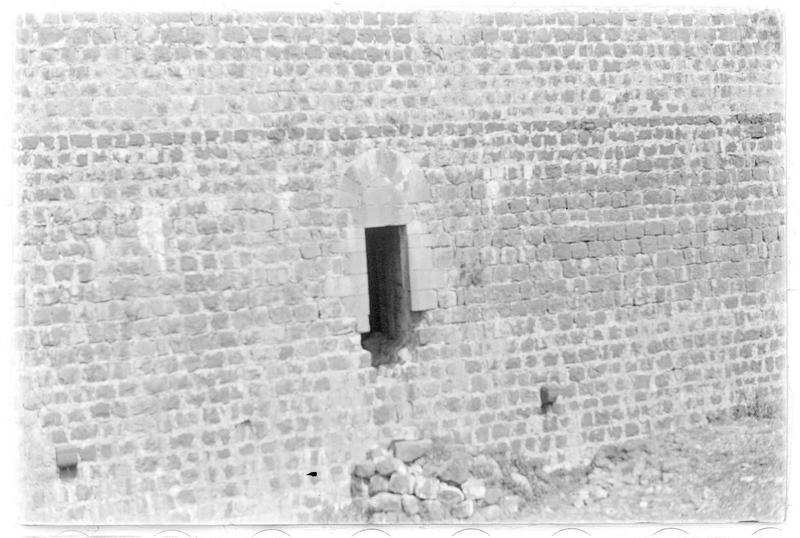 Détail d'une fenêtre du château